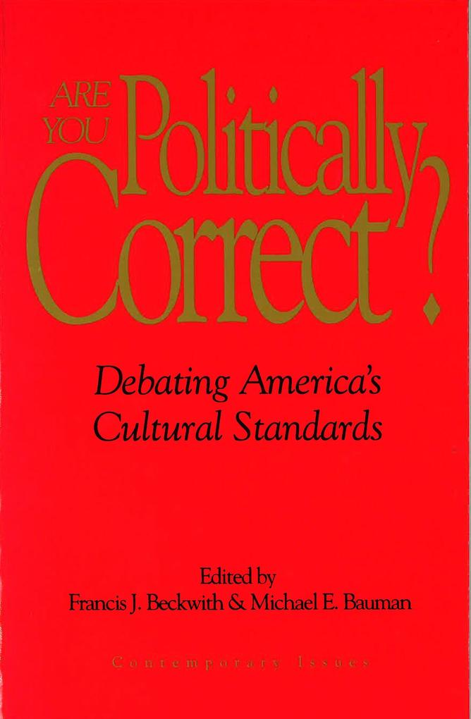 Are You Politically Correct? als Taschenbuch