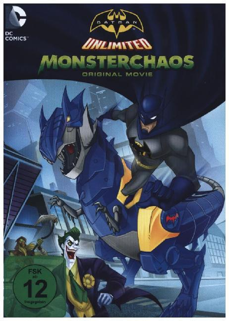 Batman Unlimited: Monster Chaos, DVD