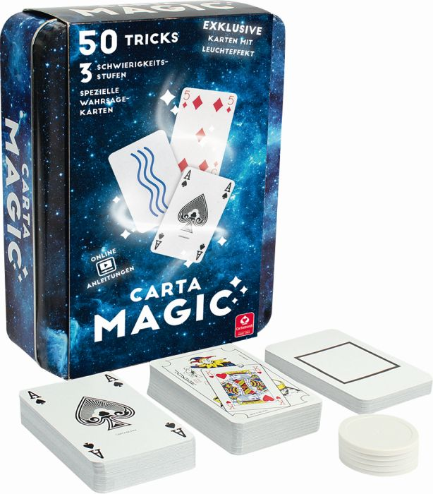 Carta Magic, 50 Card Tricks (Kinderspiel) als sonstige Artikel