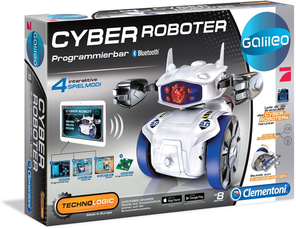 Clementoni - Galileo Technologic - Cyber Roboter als sonstige Artikel