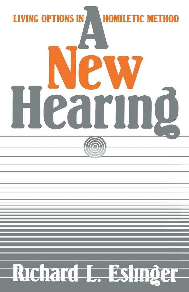 A New Hearing als Taschenbuch