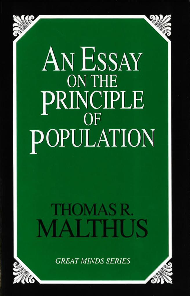 An Essay on the Principle of Population als Taschenbuch