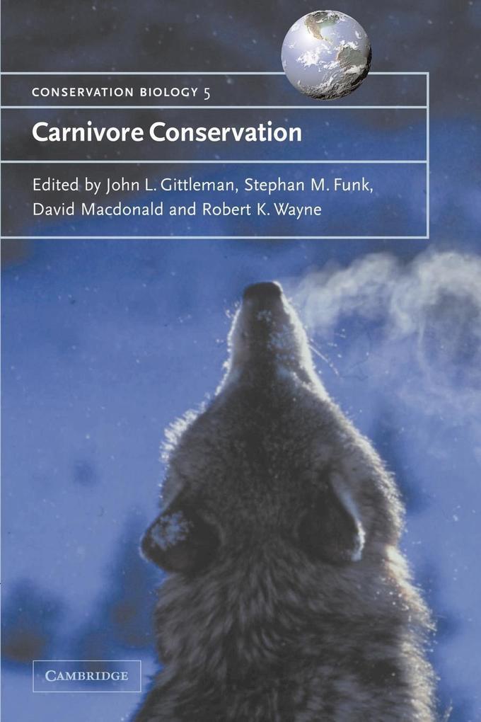 Carnivore Conservation als Buch