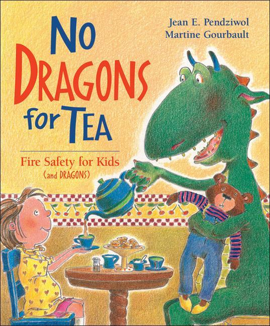 No Dragons for Tea: Fire Safety for Kids (and Dragons) als Taschenbuch