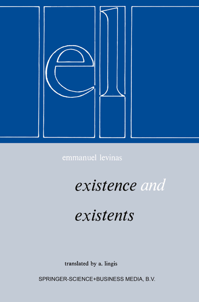 Existence et Existents als Buch