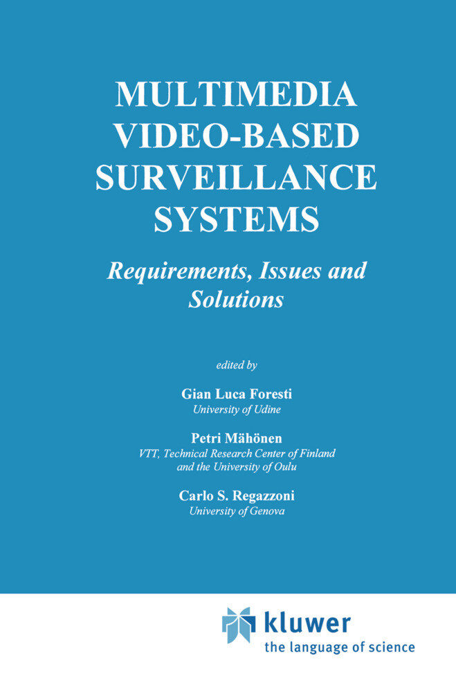 Multimedia Video-Based Surveillance Systems als Buch