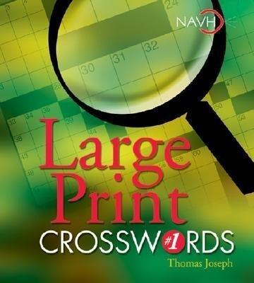 Large Print Crosswords #1 als Taschenbuch