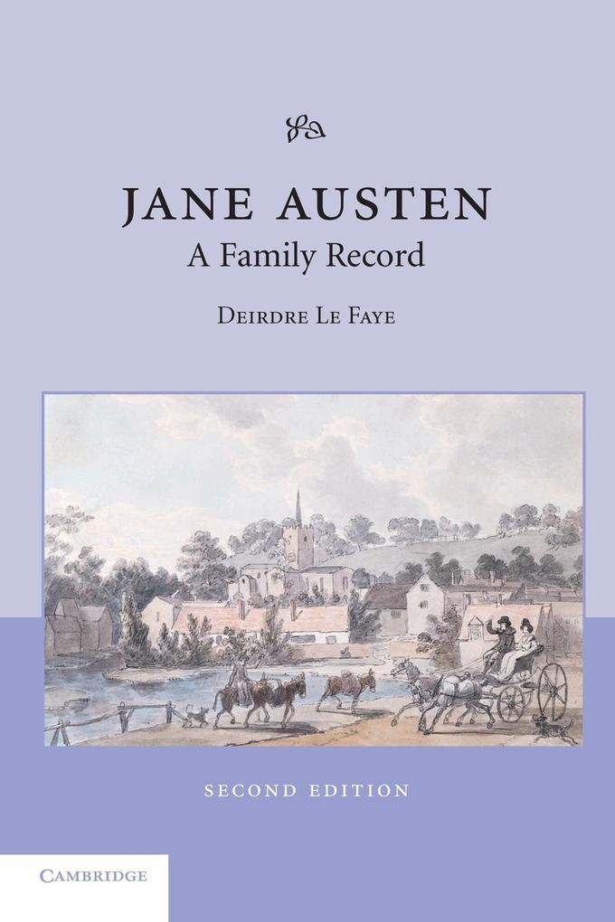 Jane Austen: A Family Record als Buch