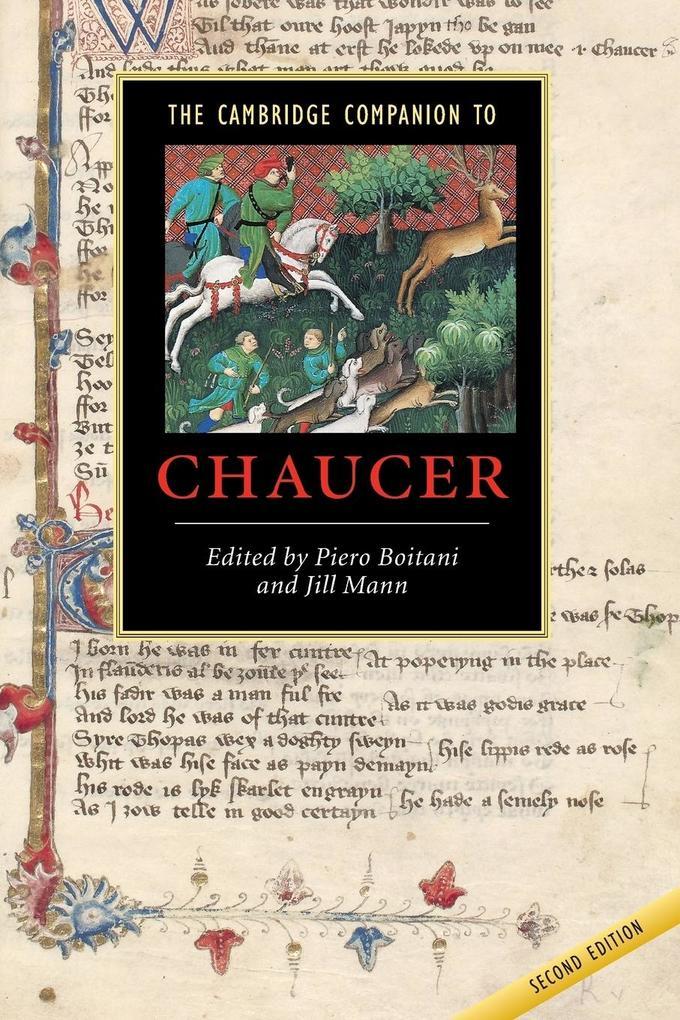 The Cambridge Companion to Chaucer als Buch