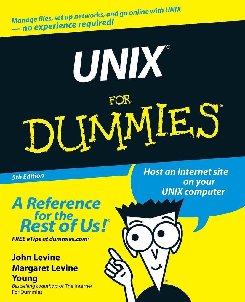 Unix for Dummies, 5th Edition als Buch
