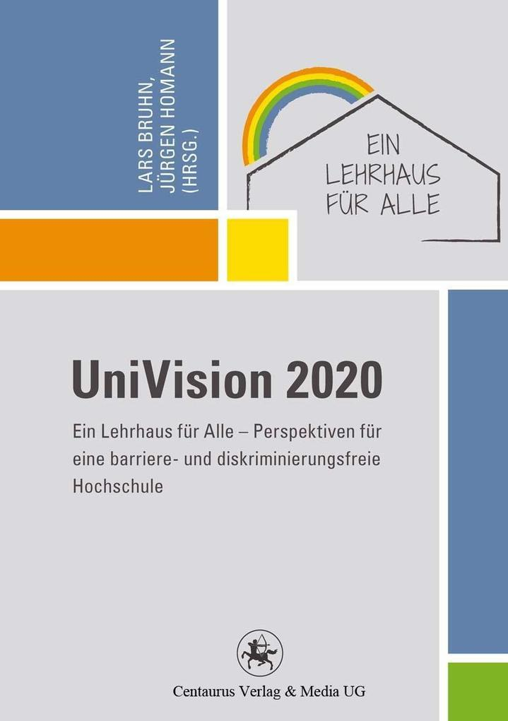UniVision 2020 als eBook Download von