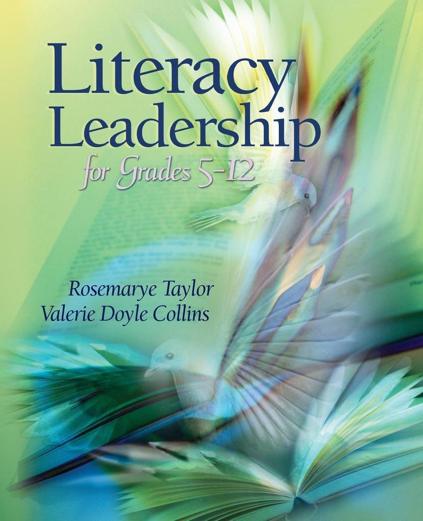 Literacy Leadership for Grades 5-12 als Taschenbuch