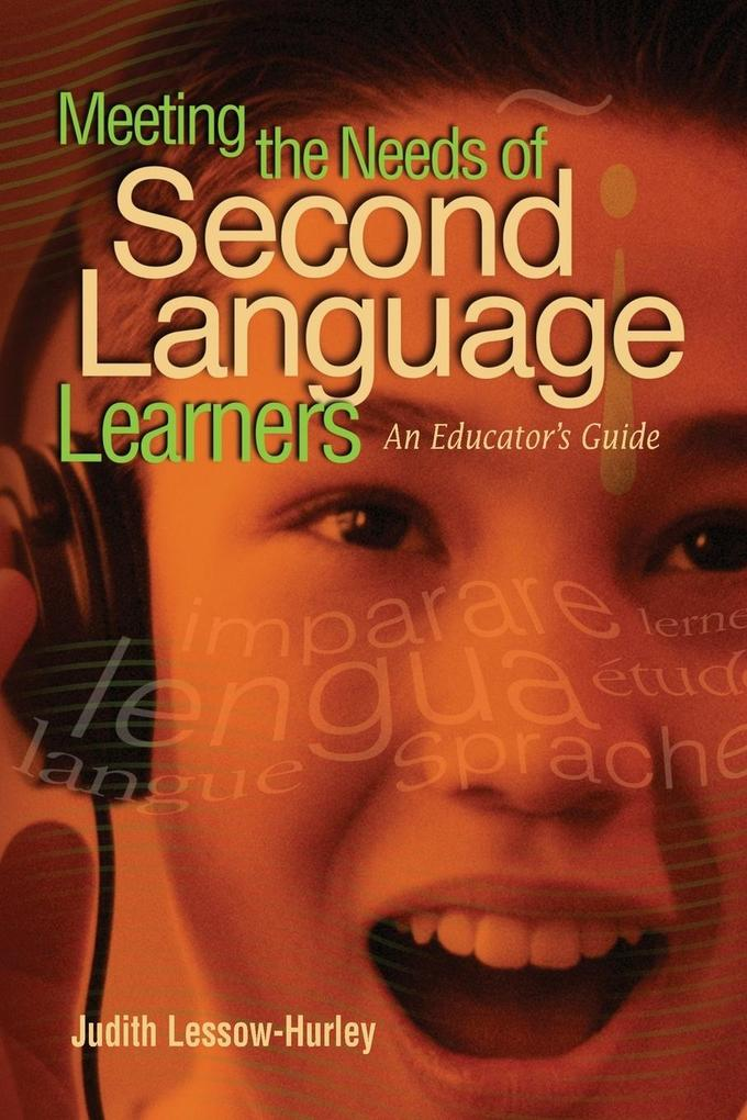 Meeting the Needs of Second Language Learners als Taschenbuch