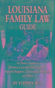 Louisiana Family Law Guide als Taschenbuch