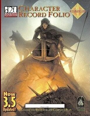 Character Record Folio als Taschenbuch