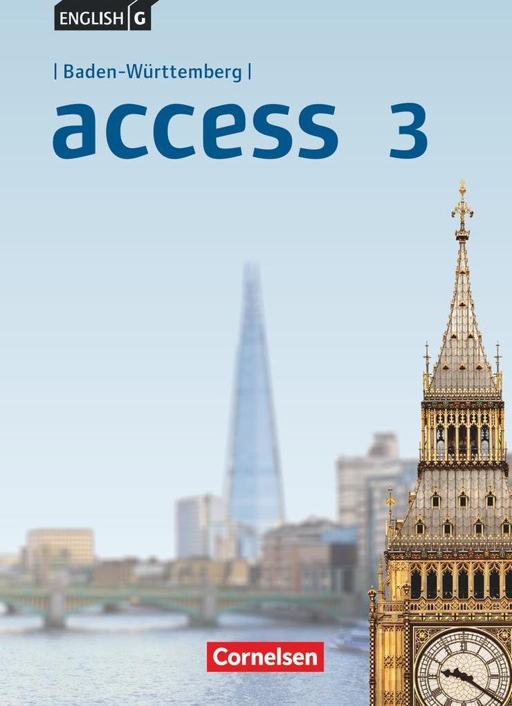 English G Access Band 3: 7. Schuljahr - Baden-Württemberg - Schülerbuch als Buch