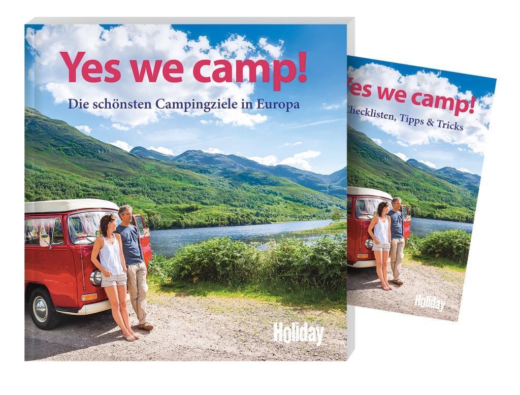 HOLIDAY Reisebuch: Yes we camp! als Buch
