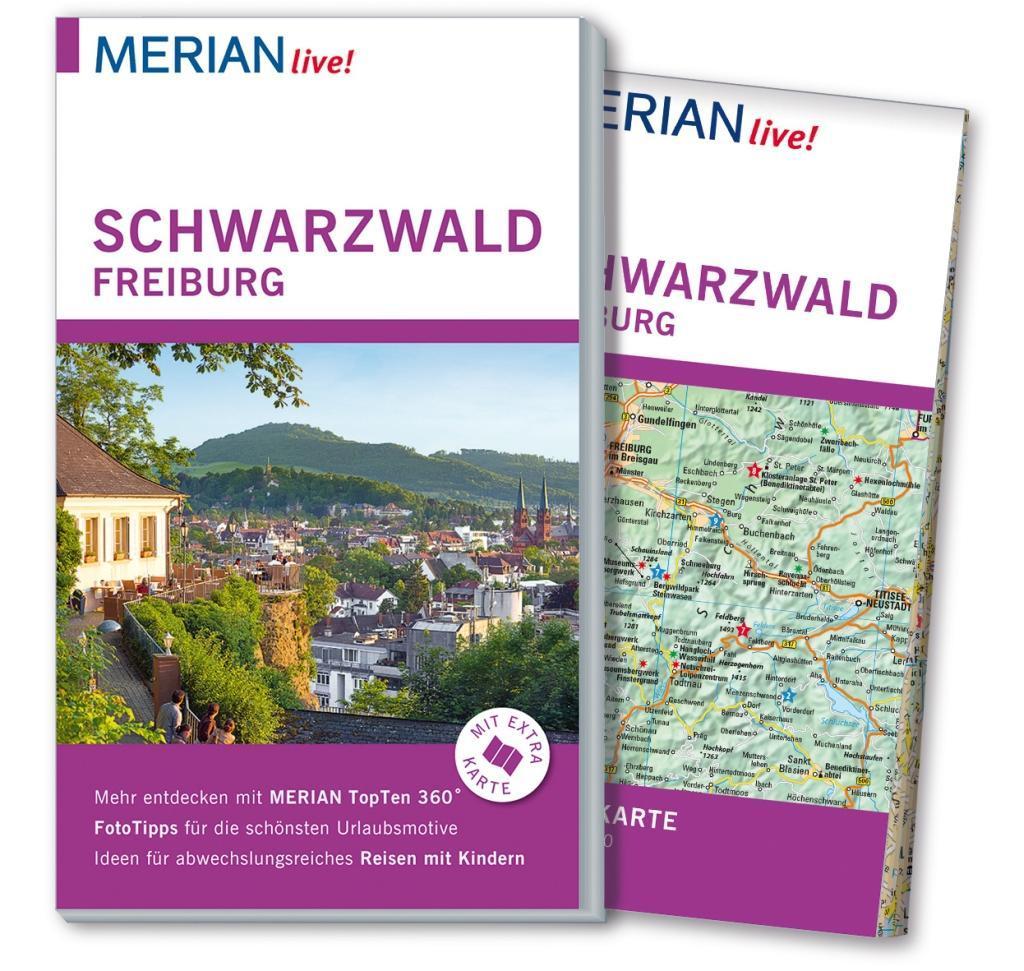 MERIAN live! Reiseführer Schwarzwald Freiburg a...
