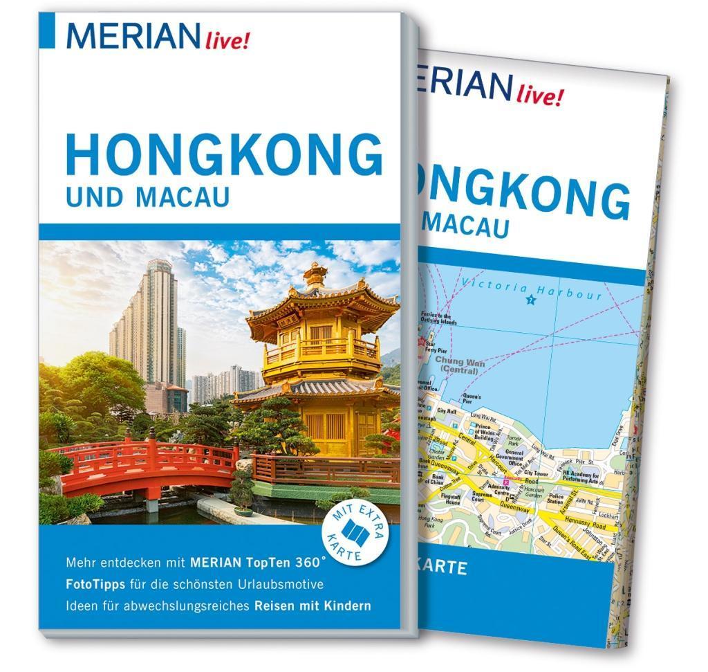 MERIAN live! Reiseführer Hongkong und Macau als...
