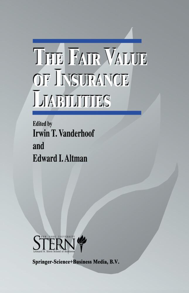 The Fair Value of Insurance Liabilities als Buch