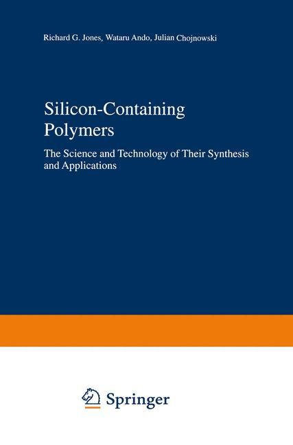 Silicon-Containing Polymers als Buch