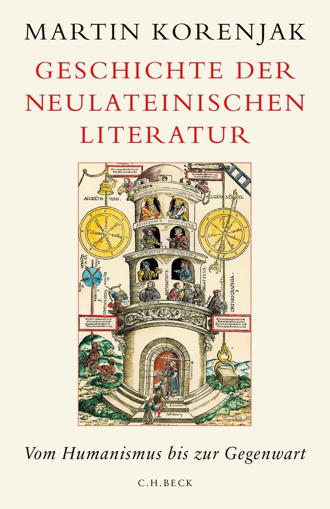 Geschichte der neulateinischen Literatur als eBook