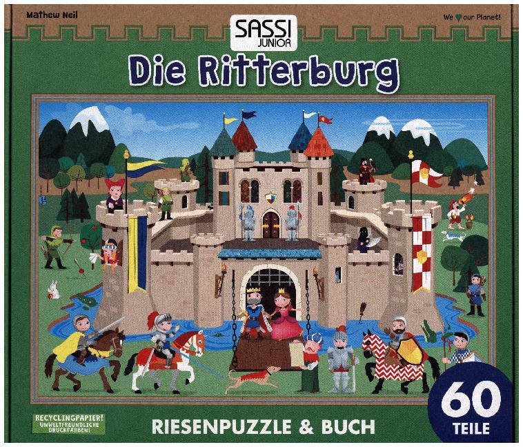 Die Ritterburg (Kinderpuzzle)