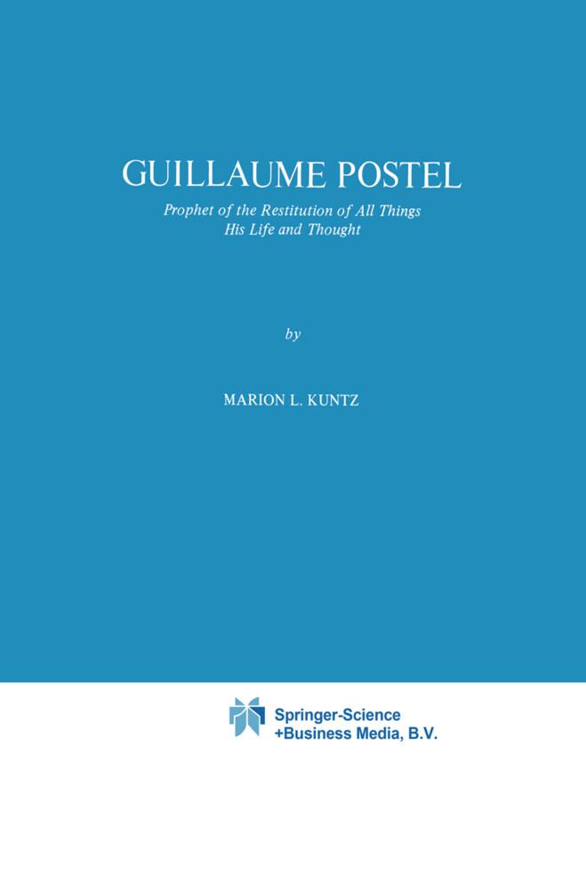 Guillaume Postel als Buch