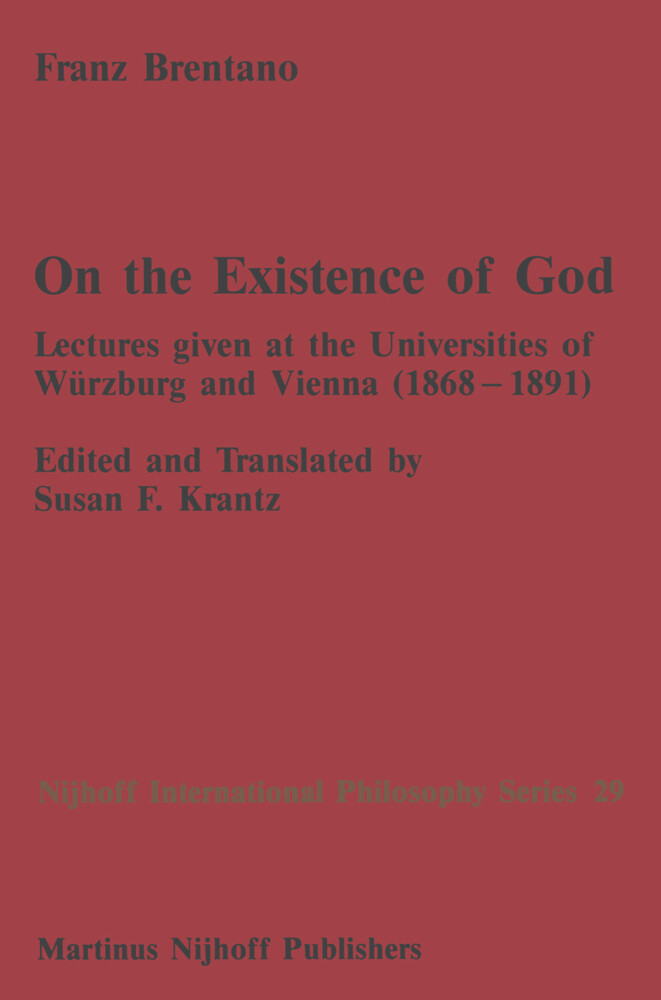 On the Existence of God als Buch
