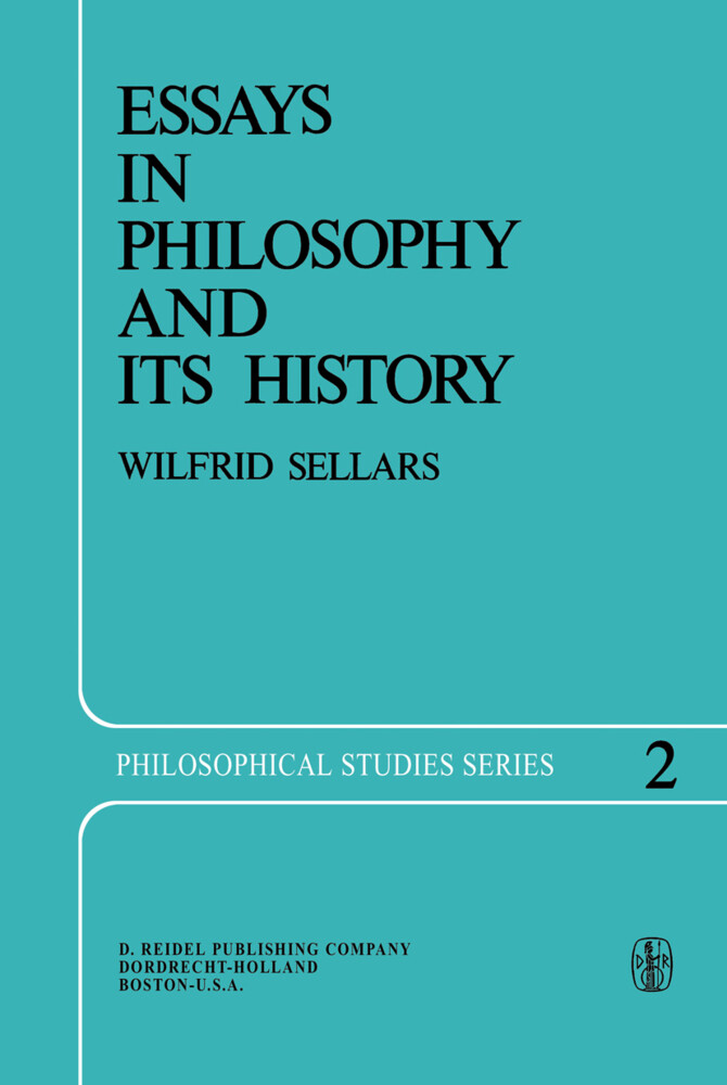 Essays in Philosophy and Its History als Buch