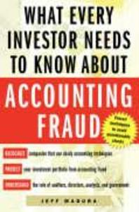 What Every Investor Needs to Know about Accounting Fraud als Taschenbuch