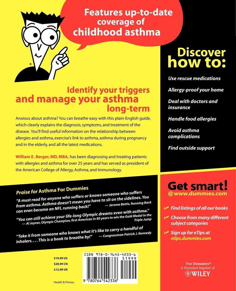 Asthma For Dummies als Buch