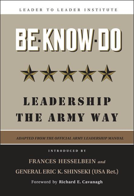 Be-Know-Do: Leadership the Army Way als Buch