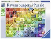 99 Beautiful Colors. Puzzle 1500-3000 Teile