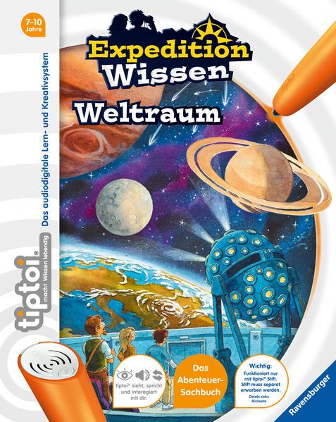 tiptoi® Expedition Wissen: Weltraum als Buch vo...
