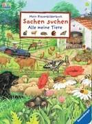 Mein Riesenbilderbuch Sachen suchen: Alle meine Tiere