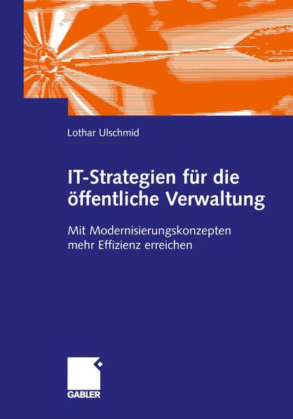 IT-Strategien für die öffentliche Verwaltung als Buch