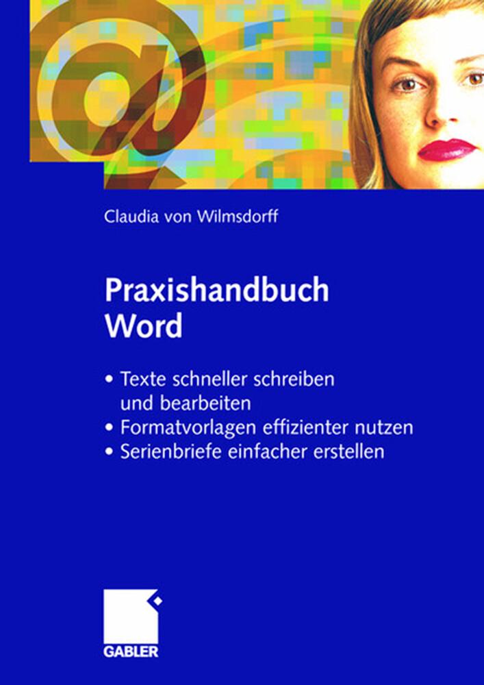 Praxishandbuch Word als Buch