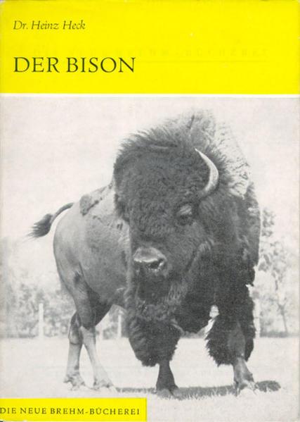 Der Bison als Buch