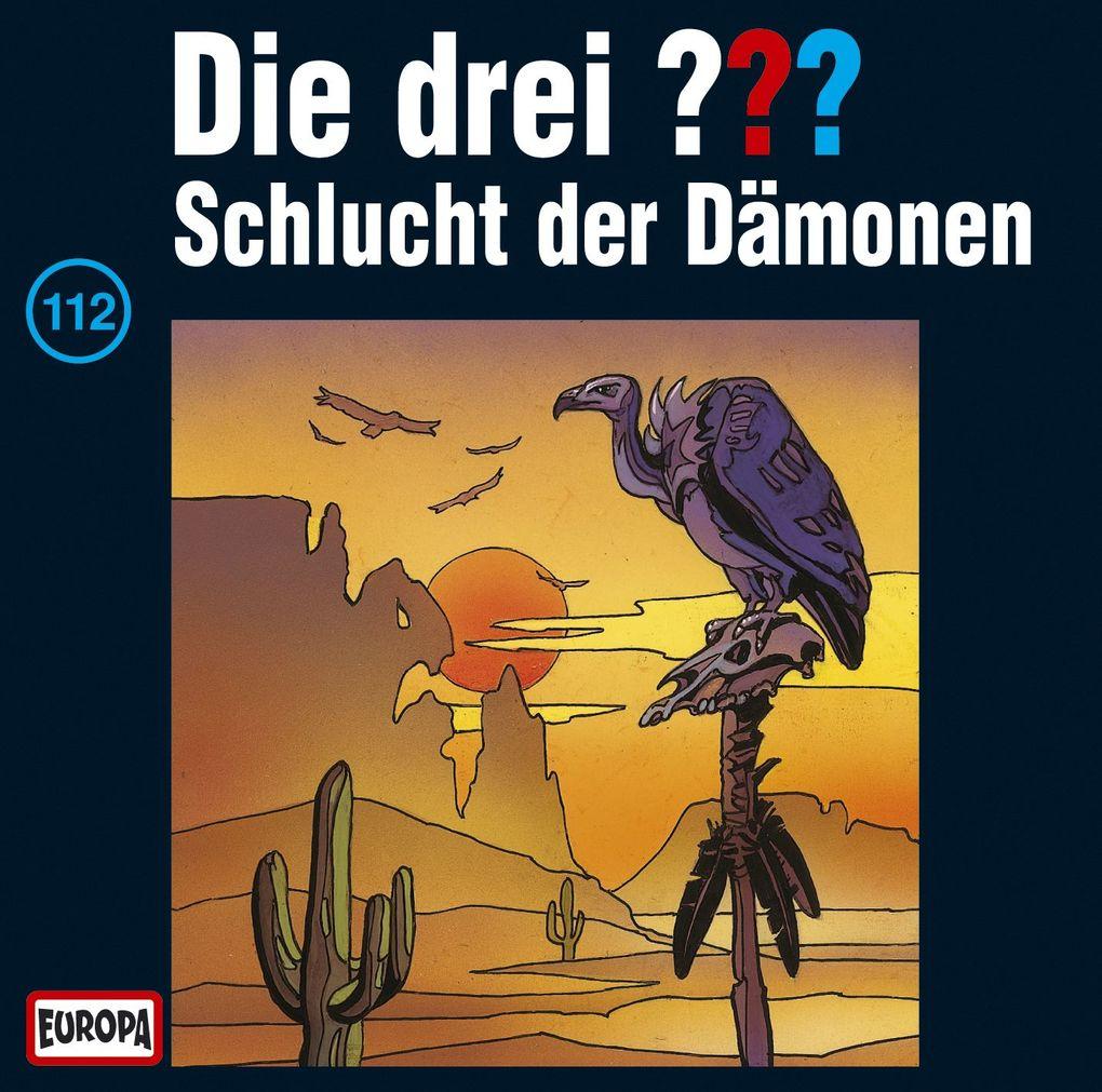 Die drei ??? 112. Schlucht der Dämonen (drei Fragezeichen) CD als Hörbuch