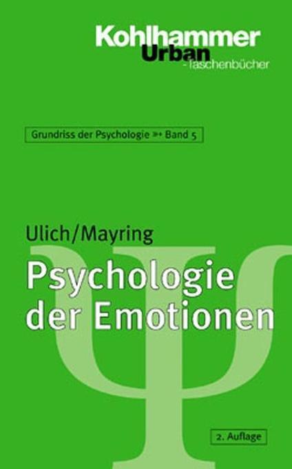 Psychologie der Emotionen als Taschenbuch