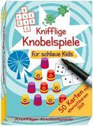 Knifflige Knobelspiele für schlaue Kids