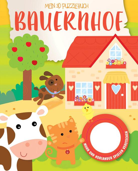 Mein 3D Puzzelbuch - Bauernhof als Buch von