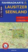 Fahrradkarte Lausitzer Seenland 1:75.000
