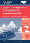 Diagnose in mechatronischen Fahrzeugsystemen X