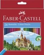 Buntstift Castle hexagonal 24er