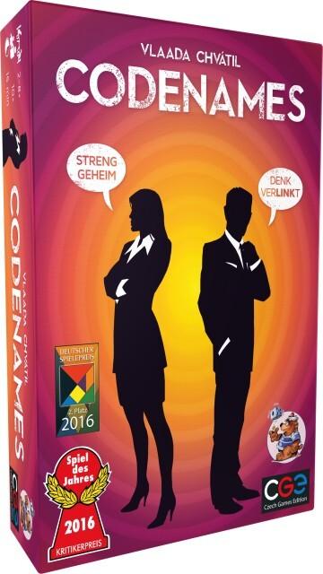 Image of Asmodee Codenames Spiel des Jahres 2016