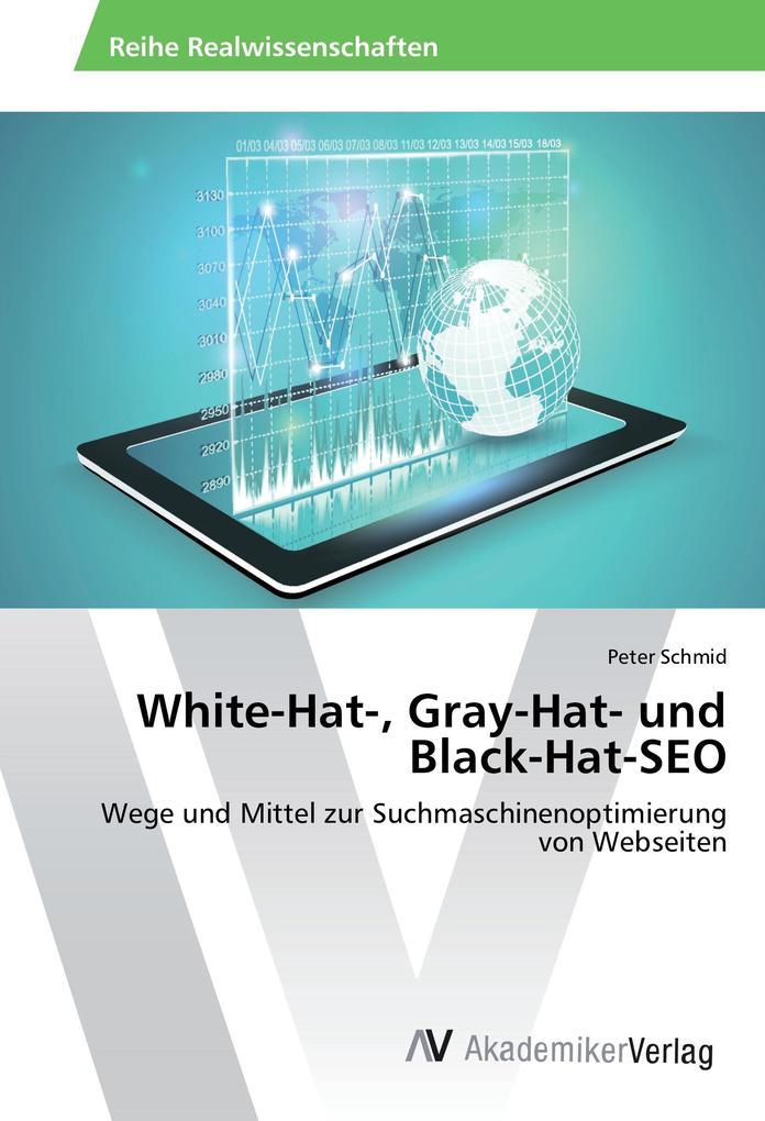 White-Hat-, Gray-Hat- und Black-Hat-SEO als Buc...