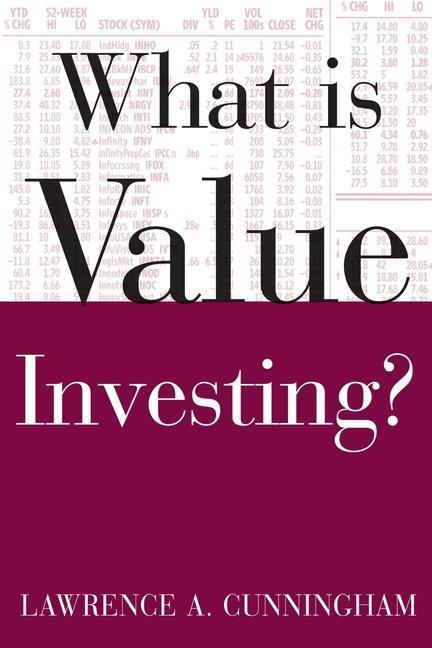 What Is Value Investing? als Taschenbuch