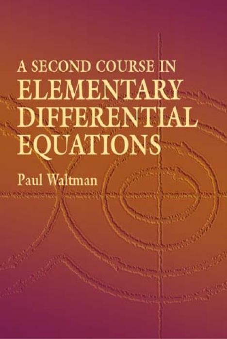 A Second Course in Elementary Differential Equations als Taschenbuch